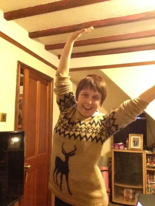 me in a jumper