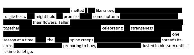 Poem Oachard Blossom 2